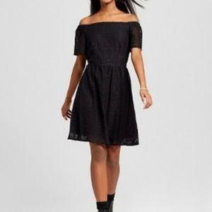 Mossimo black lace dress